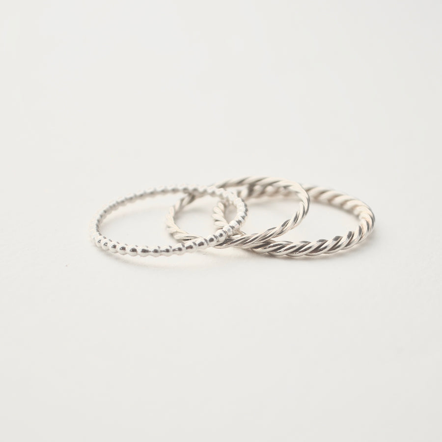 Dotted Ring - Silver