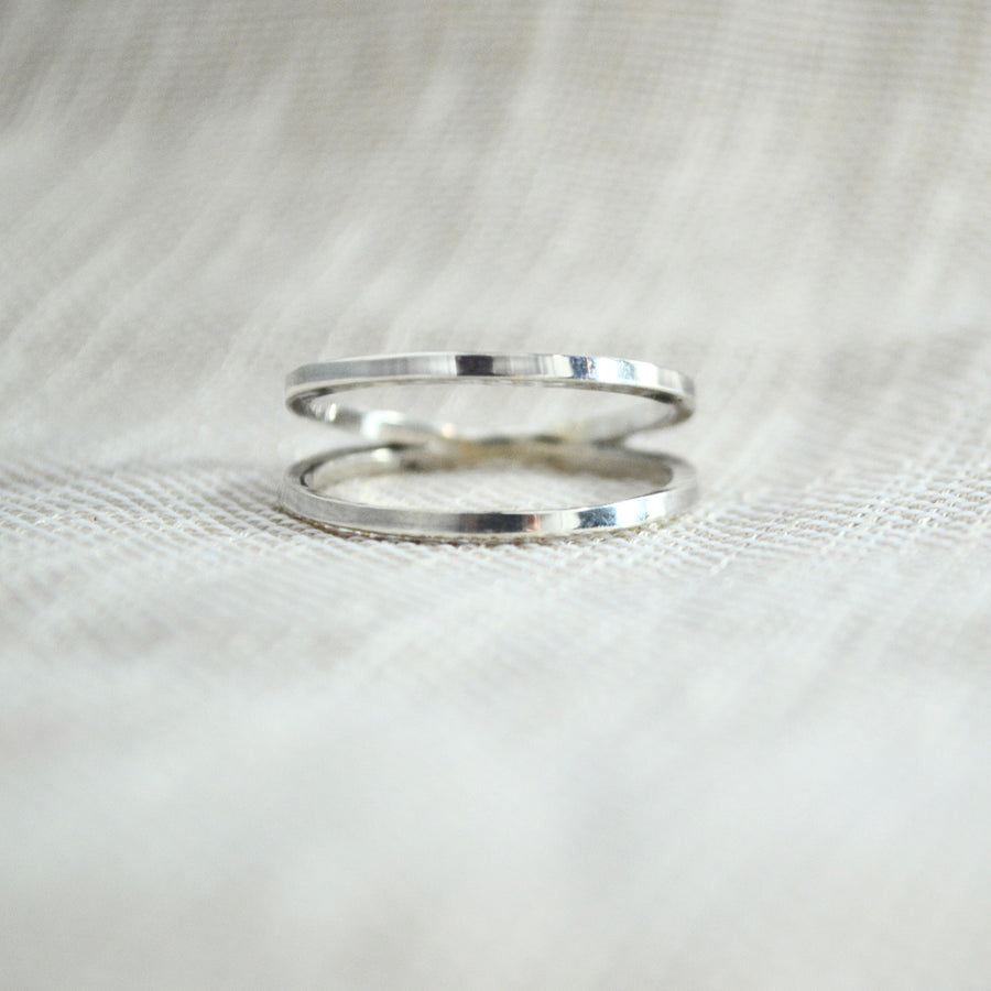 Infinity Ring - Silver