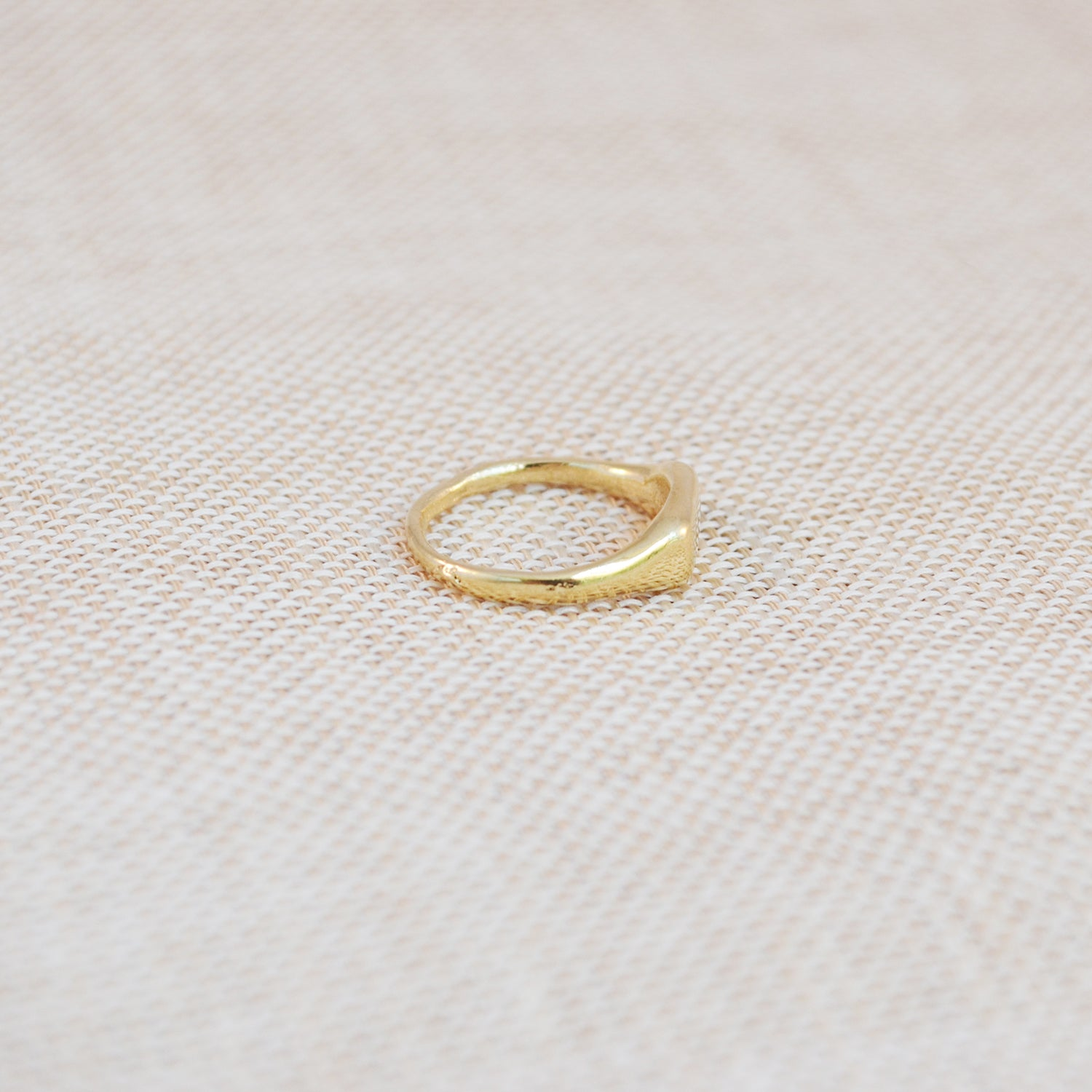 Signet Ring - 14k Gold