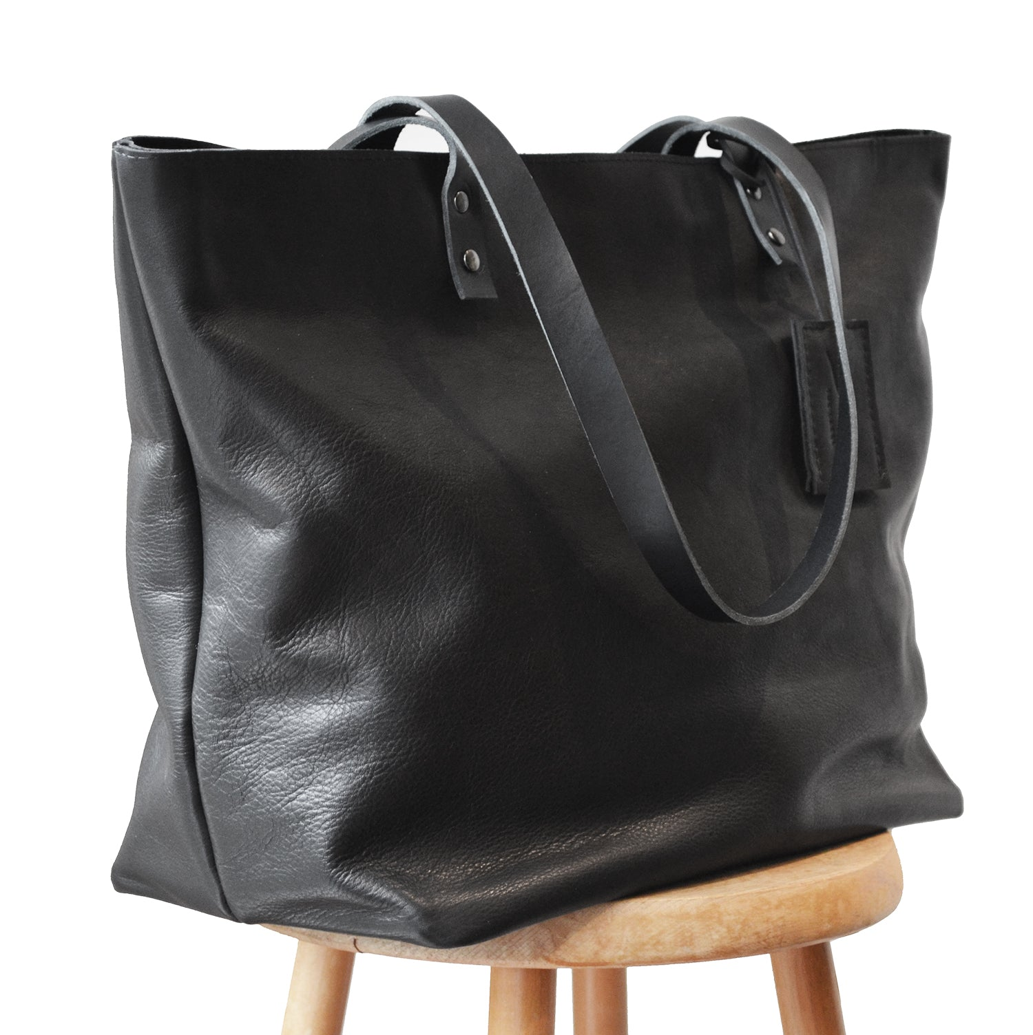 Black Marrone shopper