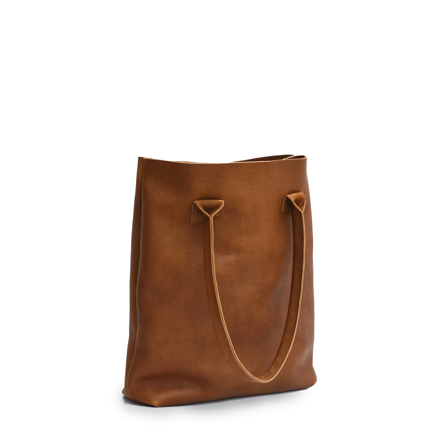 Cognac Totebag - Atelier Collection