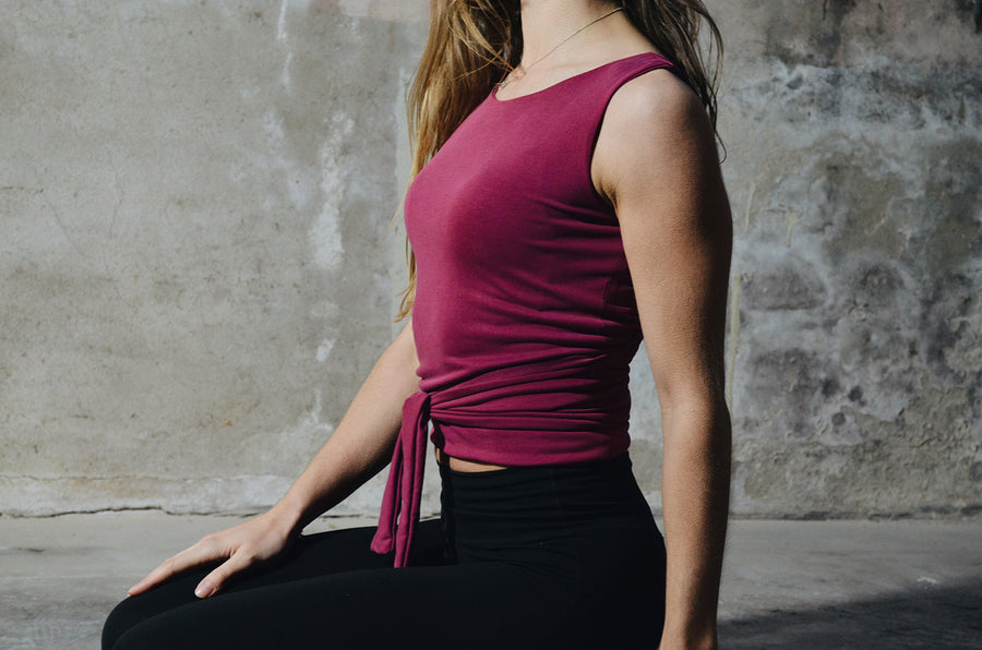Reversible Knot Top - Rusty Rouge