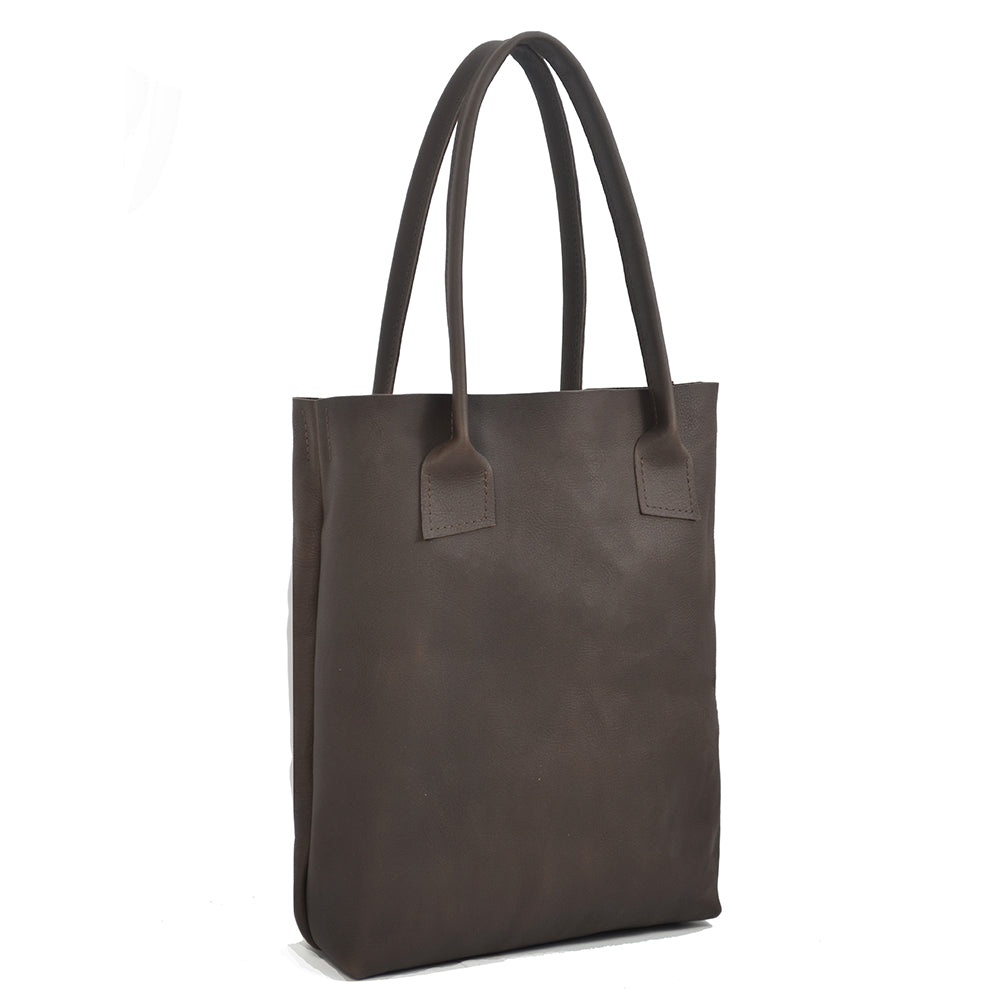 Dark Brown Totebag