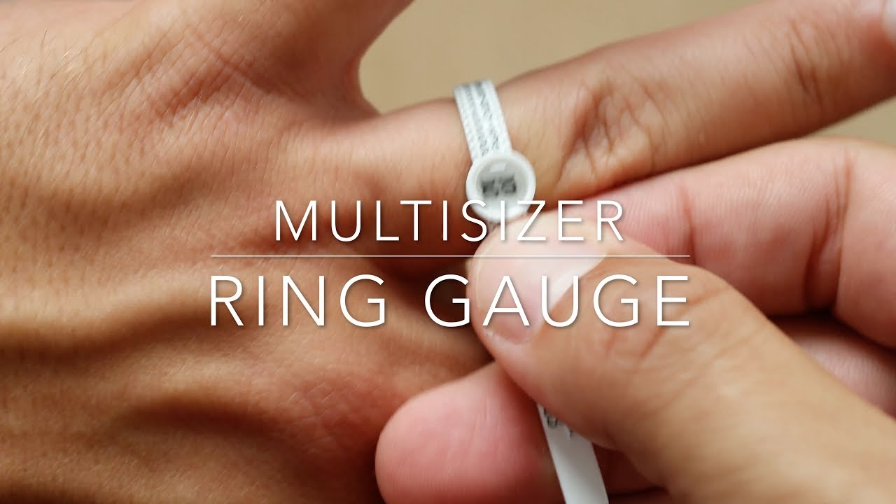 Reusable Multisizer ring