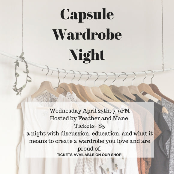 Capsule Wardrobe Night