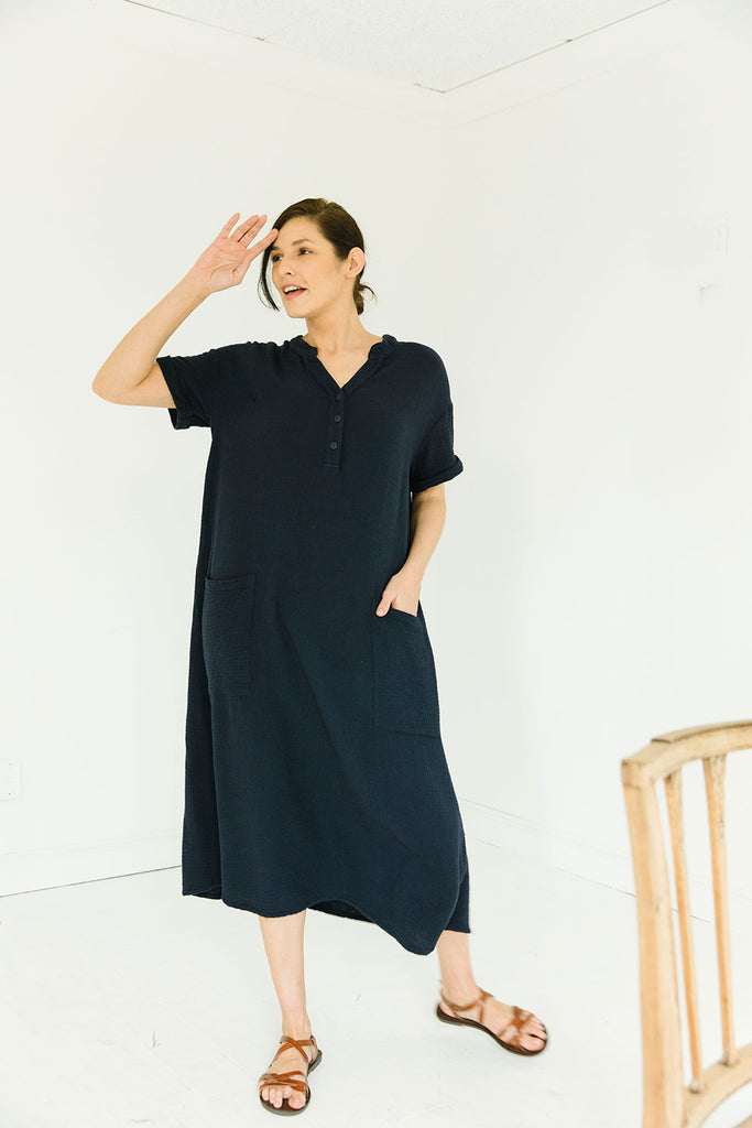 The Everyday Dress in Graystone
