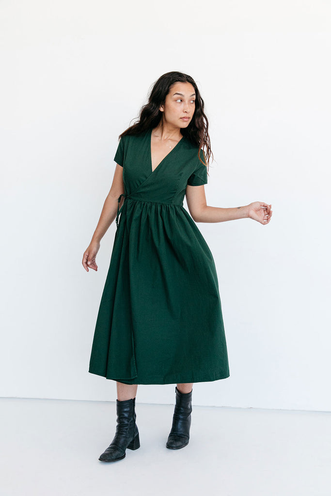 The Anna Dress in Kombu