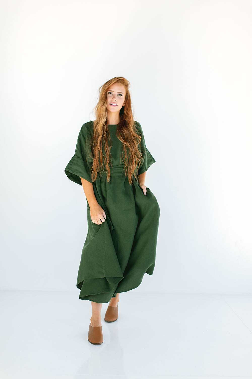 The Ema Dress in Kombu
