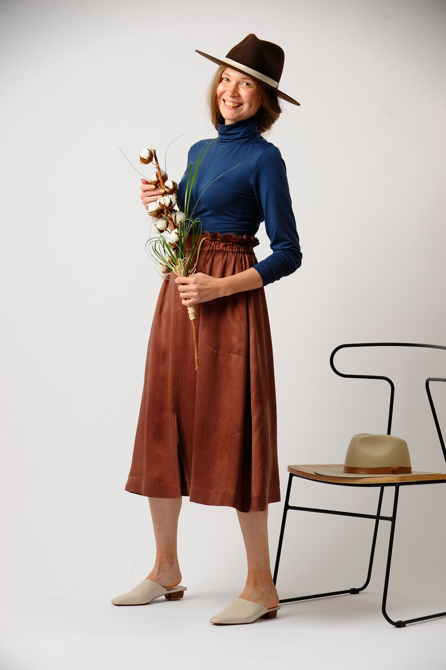 The Symphony Skirt in Penny