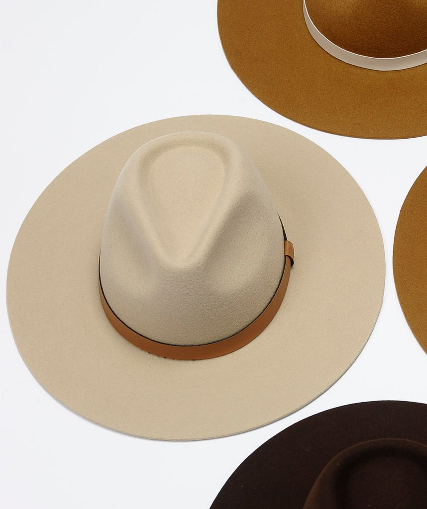 The Harmony Hat in Cream