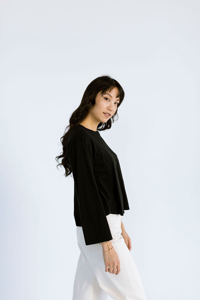 The Perfect Long Sleeve in Black