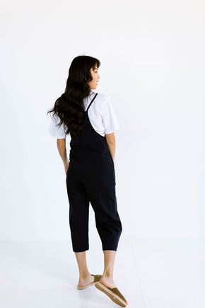 The Layering Overalls in Dark Navy - FINAL SALE, LAST CHANCE