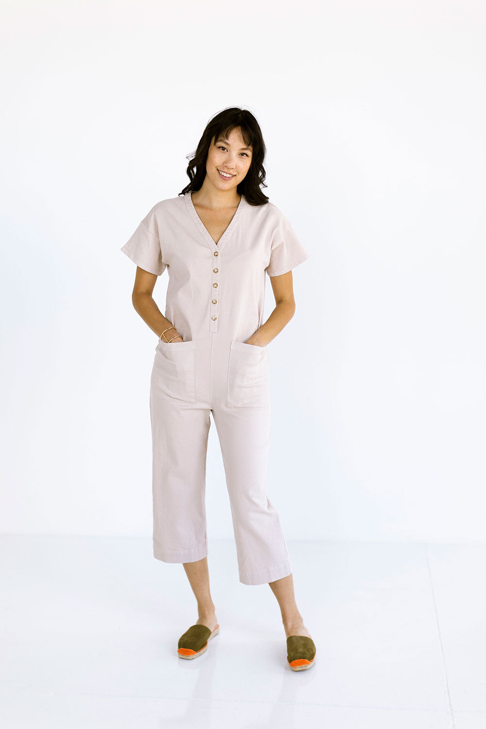 The Coverall in Mushroom - FINAL SALE, LAST CHANCE