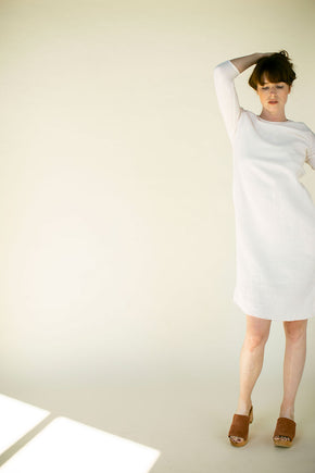 The Gauze Charlie Dress in Dew