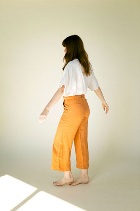 The Davy Pant in Caramel