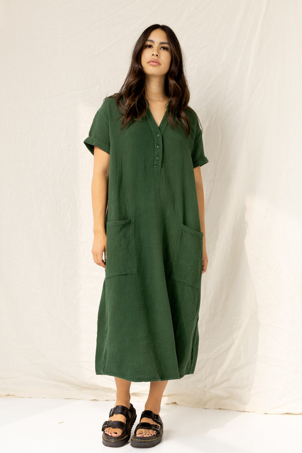 The Everyday Dress in Kombu
