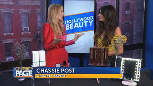 Click Here- Our Double Shade Seductive Eyebrow Gel as seen on tv for holiday must have travels with celebrity lifestyle expert Chassie Post, on over than 150 tv channels: abc, fox, cbs, cw, reelz and more.
