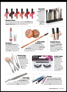 "Our eyebrow kit has been featured on Beauty Store Business Magazine - June 2019 edition on makeup match article, ""customers are looking for customized makeup that fits their unique skin tone and skin health."