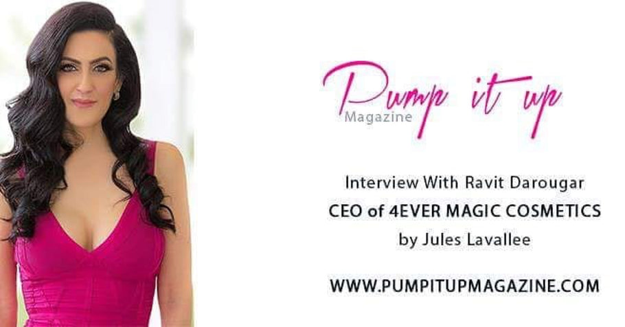 Click to read- our founder's interview on Pump It Up Magazine
