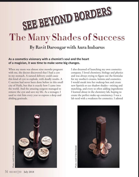 Click to read- our founder's story on See Beyond Magazine & Talks- July Edition