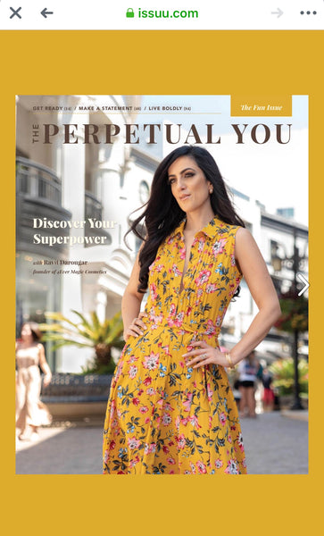 Click to read- our founder's cover magazine on The Perpetual you -October issue.