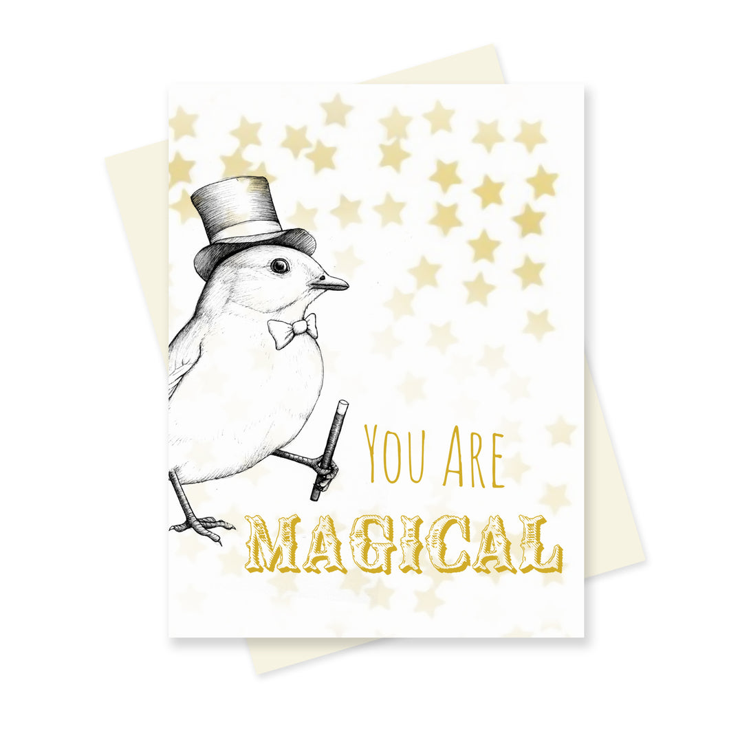 You are Magical. A6 Card