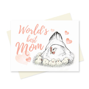 Mother Hen. A6 Card
