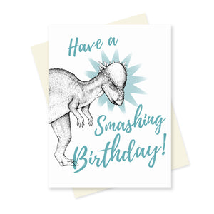 Smashing Birthday. A6 Card