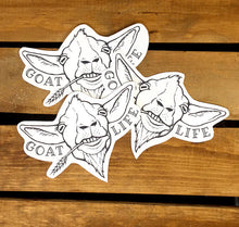 Goat Life Sticker Set.