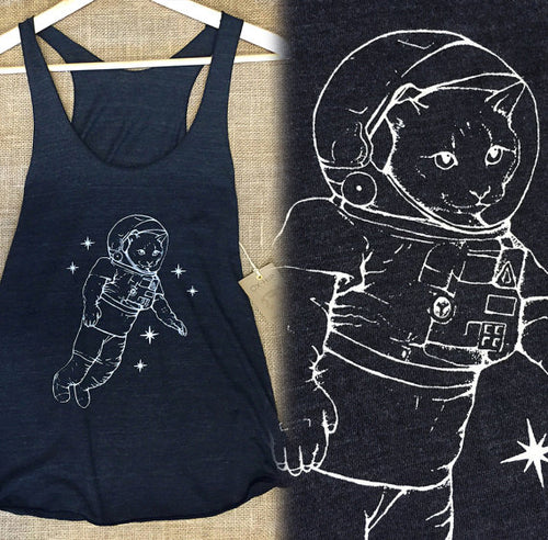 Space Cat Tank Top