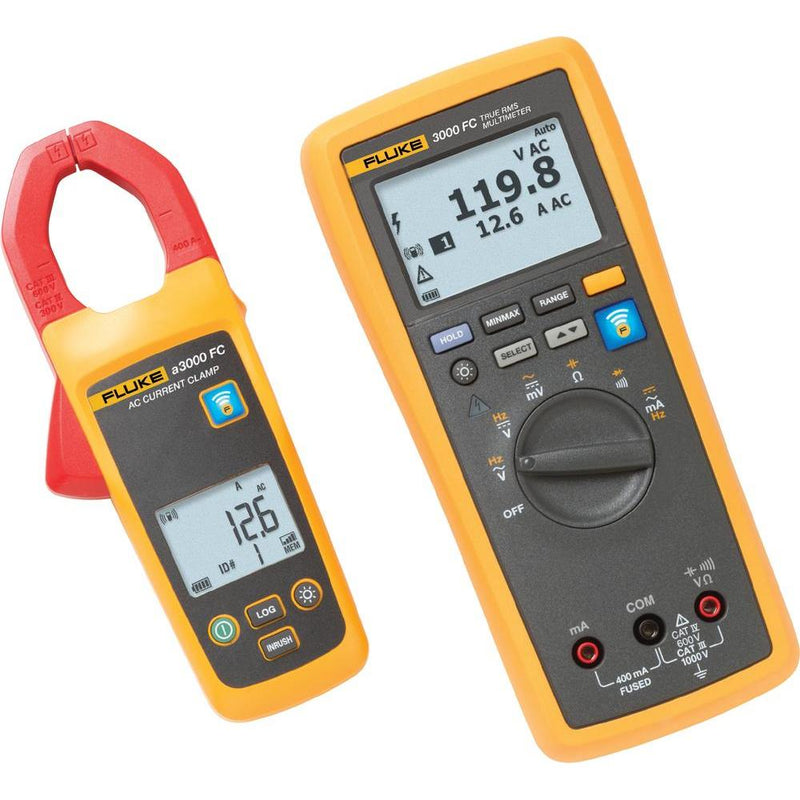 Fluke a3000 FC Wireless AC Current Clamp Kit