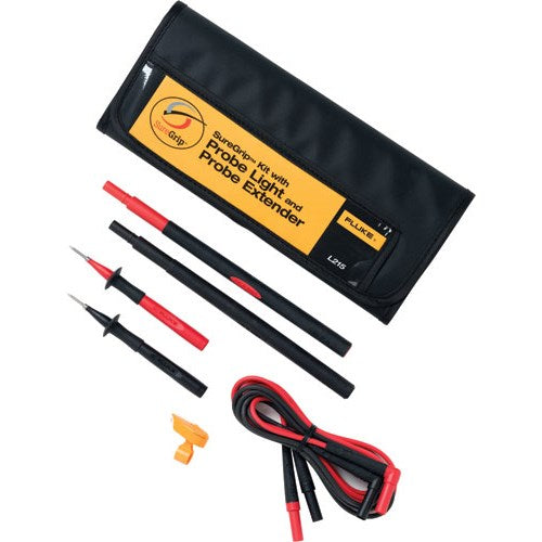 Fluke L215 SureGrip™ Kit with Probe Light and Probe Extender