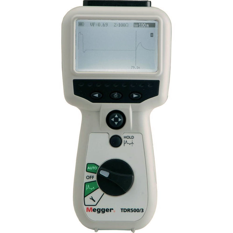 Megger TDR500/3 Time Domain Reflectometer (30 - 3000m)