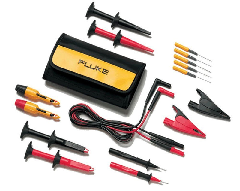 Fluke TLK-282 SureGrip™ Deluxe Automotive Test Lead Kit