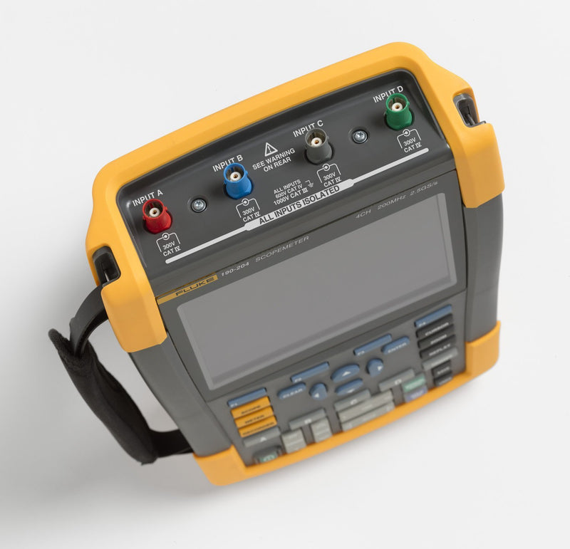 Fluke 190-204/AM/S ScopeMeter® with Software