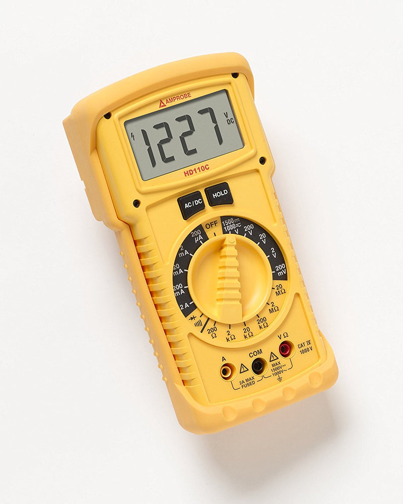 Amprobe HD110C IP67 Heavy Duty Multimeter