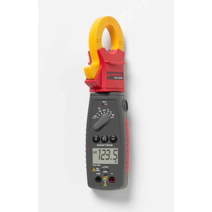 Amprobe ACD-22SW True-rms Swivel™ Clamp Meter with VolTect™