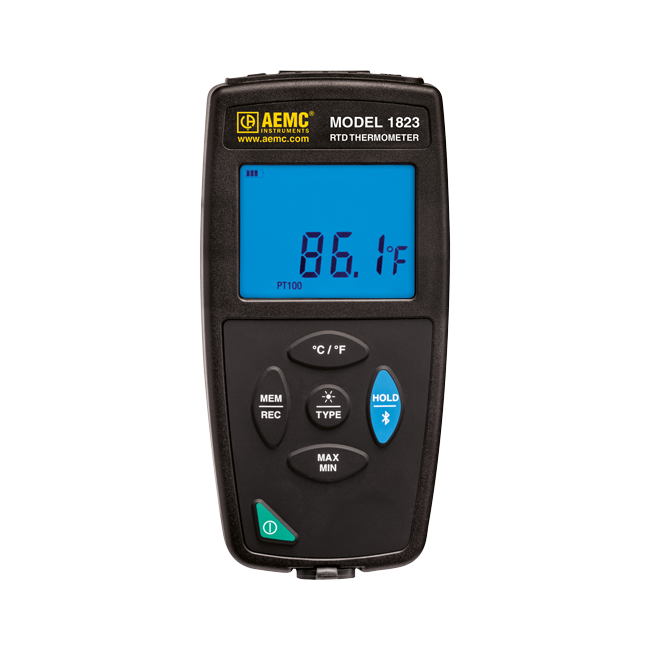 AEMC 1823 RTD Thermometer/Data Logger