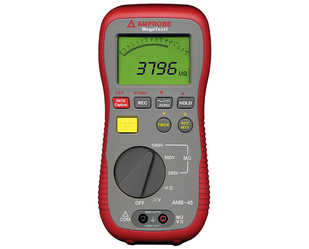 Amprobe AMB-45 Insulation Resistance Tester