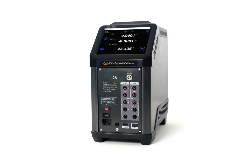 Additel 875 Dry Well Temperature Calibrator
