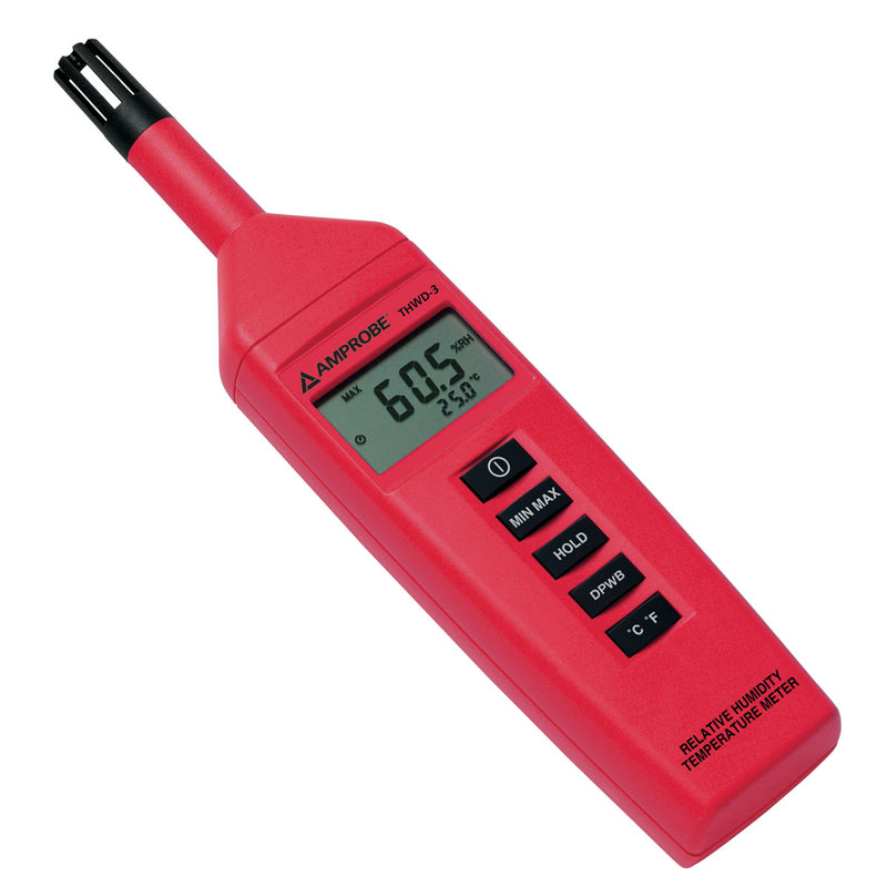 Amprobe THWD-3 Relative Humidity Temperature Meter