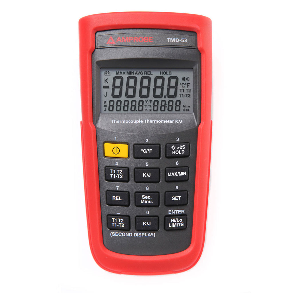Amprobe TMD-53 Thermocouple Thermometer K/J-Type