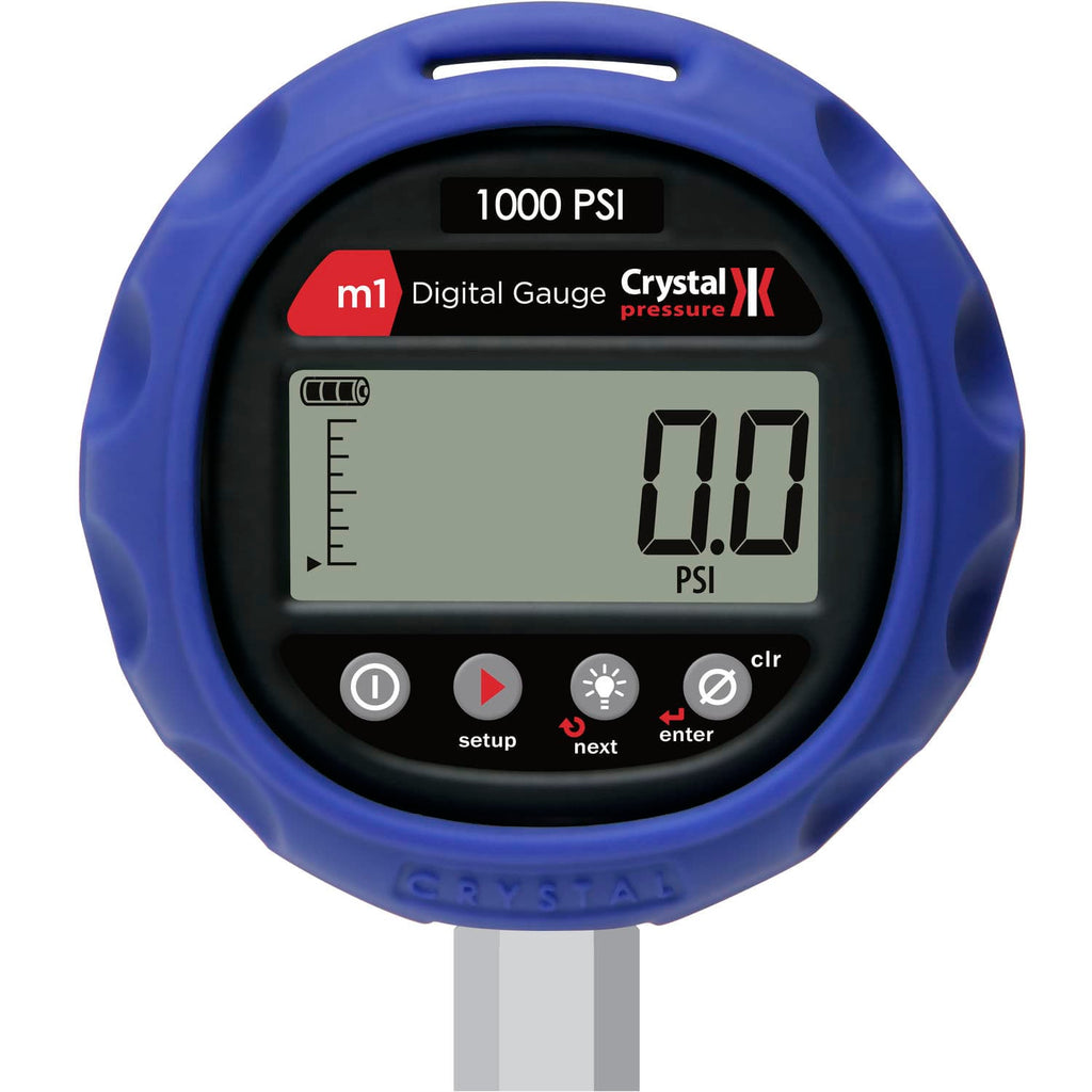 Crystal Engineering M1 Series Digital Pressure Gauge