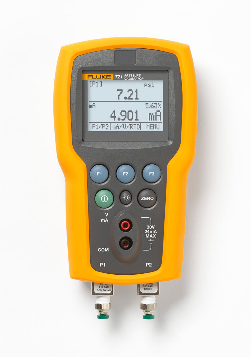 Fluke 721 Pressure Calibration Instrument