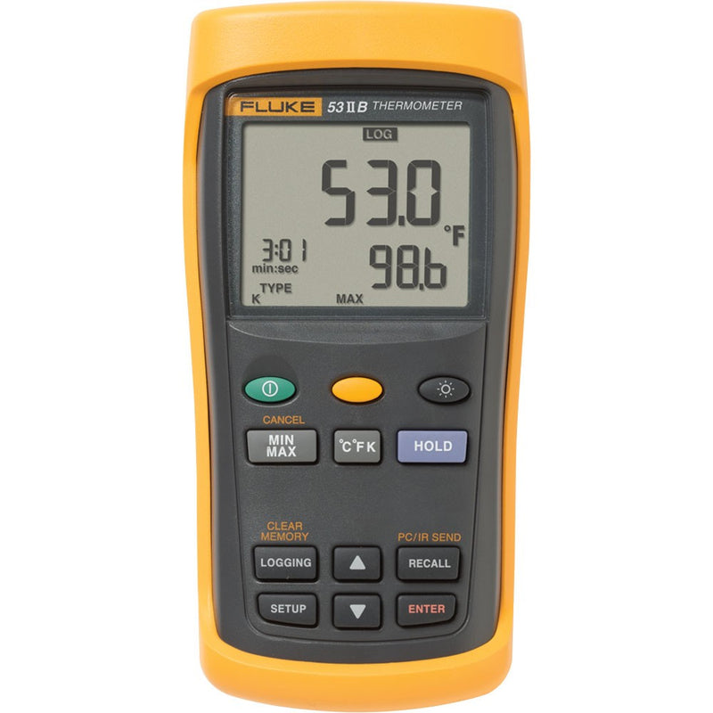 Fluke 53 II Temperature Logging Digital Thermometer