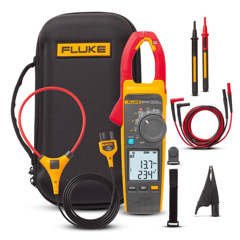 Fluke 377FC Non-Contact True RMS AC/DC Clamp Meter