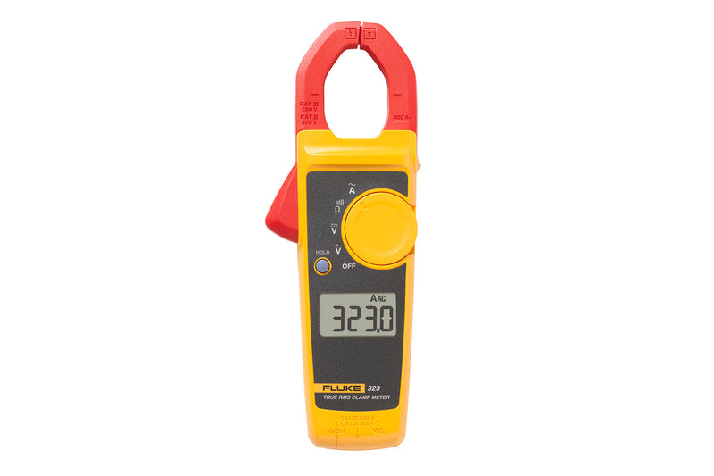 Fluke 323 400A AC True-rms Clamp Meter