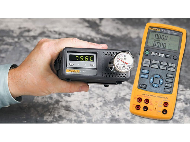 Fluke 9100S Dry Block Temperature Calibrator