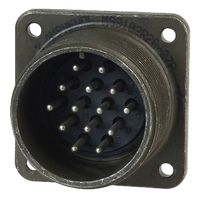 Amphenol MS3102E14S-12P Circular Connector, MIL-DTL-5015 Series, Box Mount Receptacle