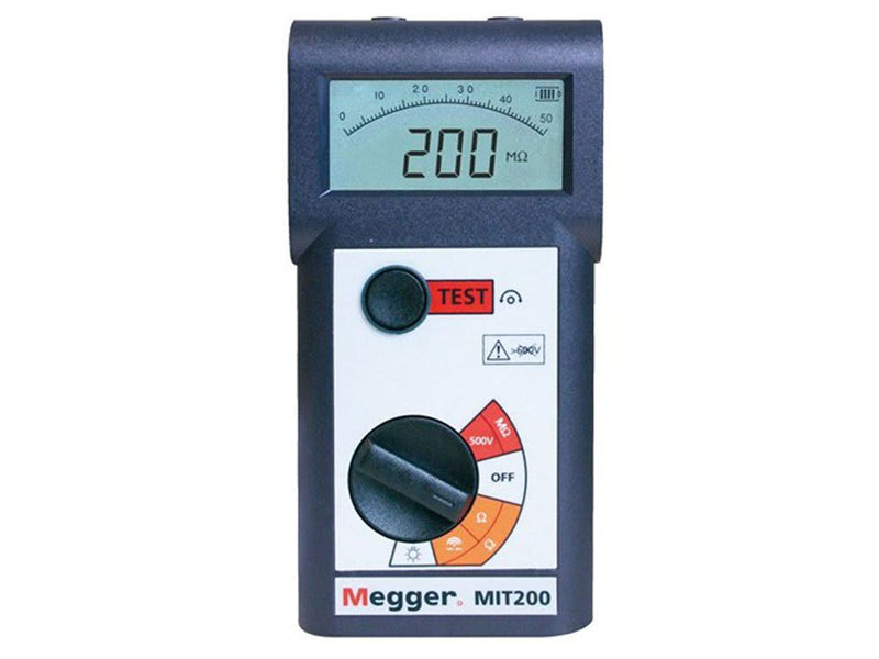 Megger MIT200 Series Insulation Testers
